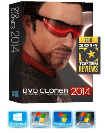 Download DVD Cloner Gold 2014 + Serial