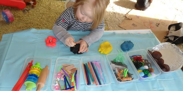 activities for kids, sensory activity, playdoh activity, toddler fun, preschooler activity