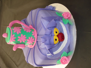 Cheshire Cat Cake for Nadia