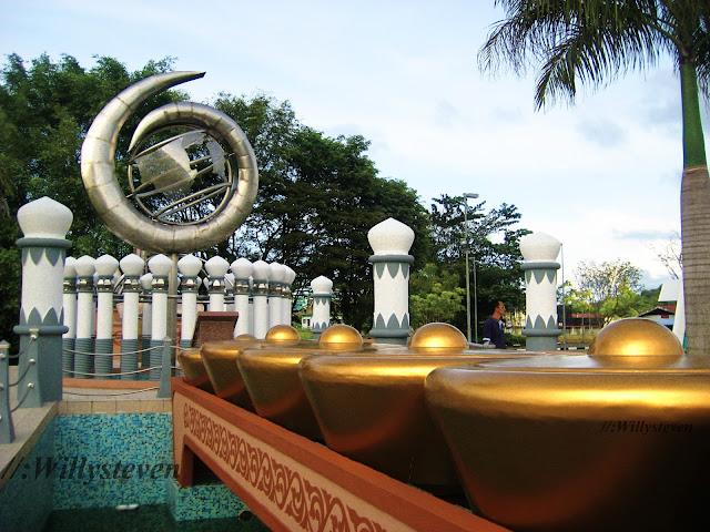 arca di Taman Seri Warisan Emas, Tutong, Brunei Darussalam