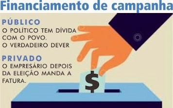 Reforma política completa é pelo fim do financiamento empresarial de campanha