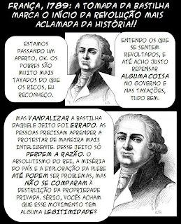 """Revolução Francesa = """"revolução"""" em São Paulo?"""