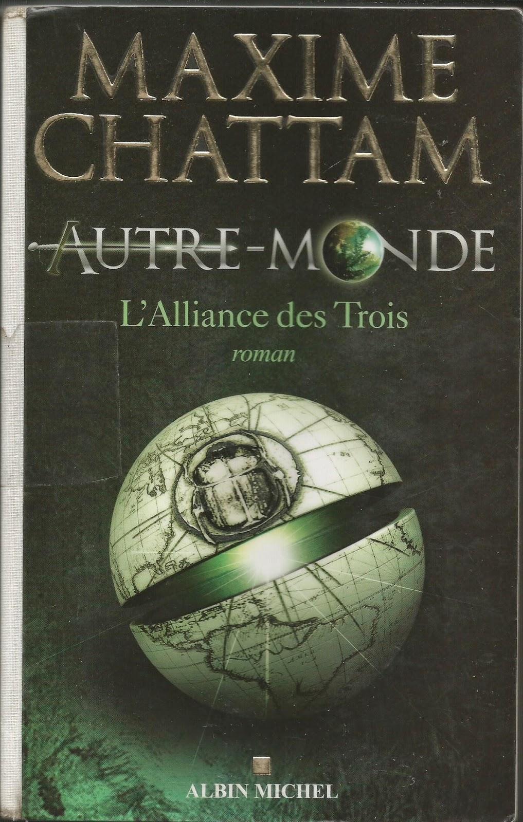 Autre Monde le mieux écrit Maxime Chattam Les Mondes de Cassandre