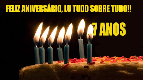Feliz aniversário, Lu Tudo Sobre Tudo!!!