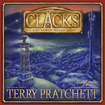 [ESSEN 2015] Clacks: a Discworld Board Game!