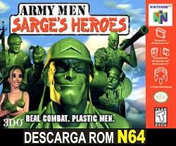 Army Men - Sarge's Heroes  64 ROMs Nintendo64