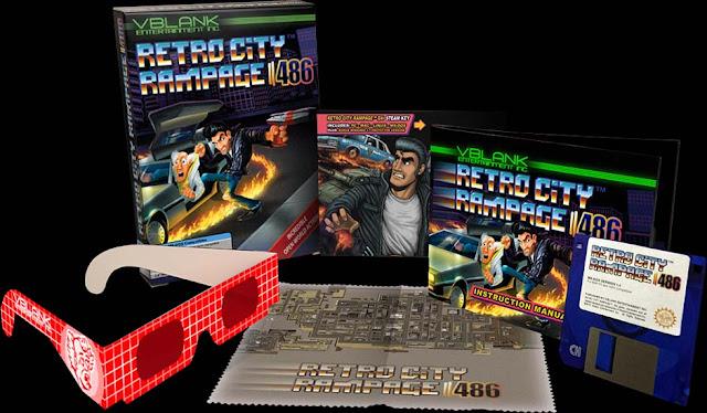 Ya disponible Retro City Rampage 486 para MS-DOS. ¡Ver para creer!