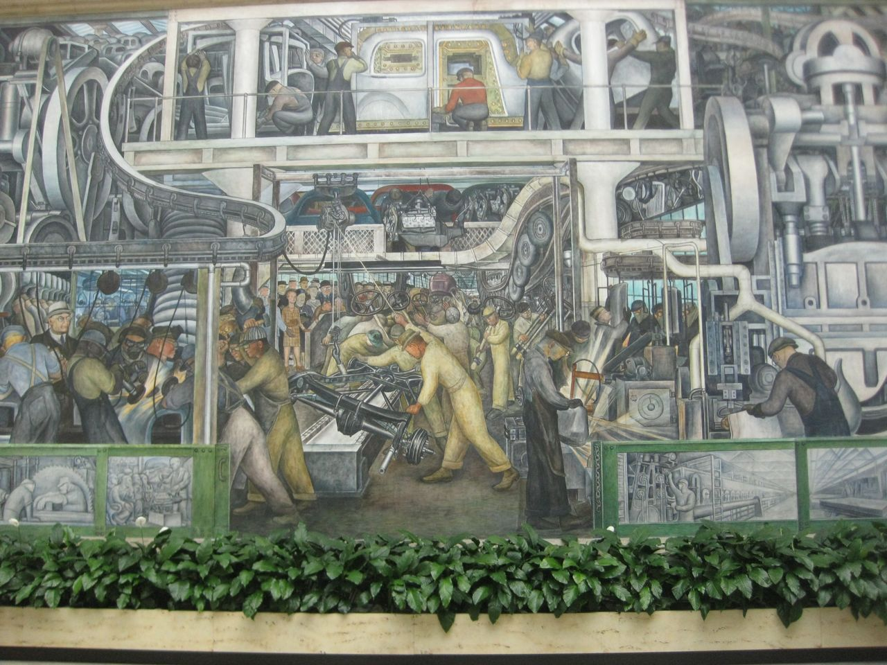 What do i know great american art diego rivera 39 s for Diego rivera detroit mural