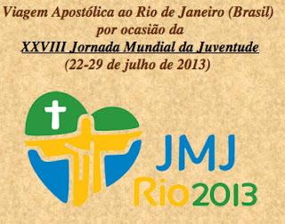 Vaticano criou página especial para a JMJ Rio 2013
