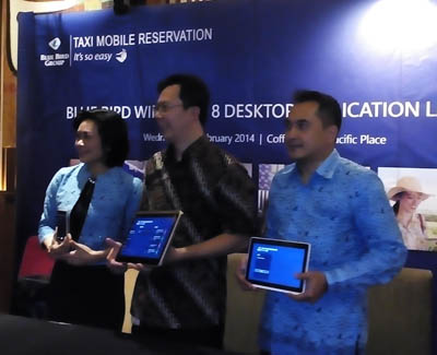 Reservasi Taksi Blue Bird Kini Bisa via Desktop & Tablet Windows 8