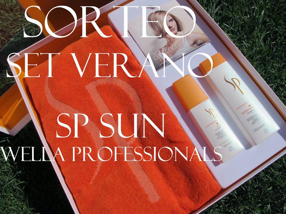 SORTEO SP SUN  - WELLA PROFESSIONALS