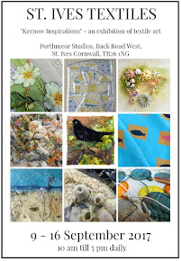 "EXHIBITION POSTER <br>""KERNOW INSPIRATION&#39; - September 2017"