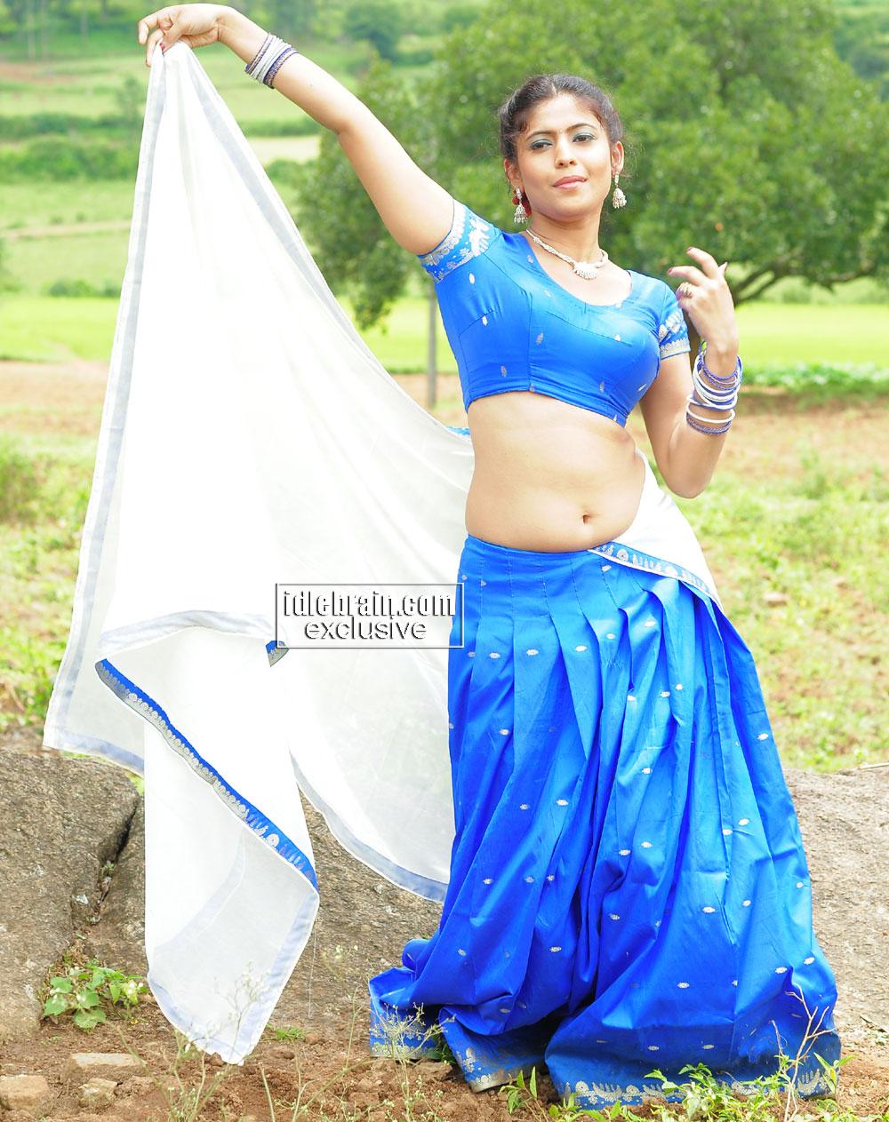 Pallu Drop Blouse 110