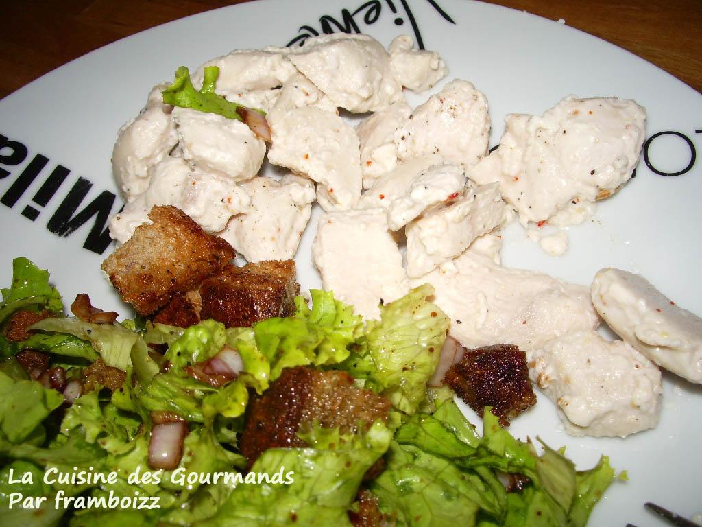 La cuisine des gourmands blancs de poulet moelleux au - Cuisiner des blancs de poulet moelleux ...