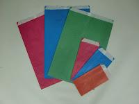 sobres de papel celulosa