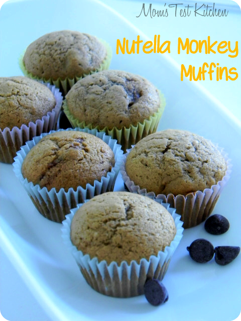 Nutella Monkey Muffins {Breakfast Contributor} - My Favorite Finds