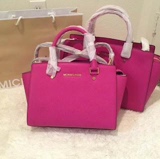 Kumpulan Model Tas Branded Warna Pink
