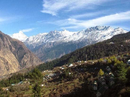 Nanda Devi Mountains