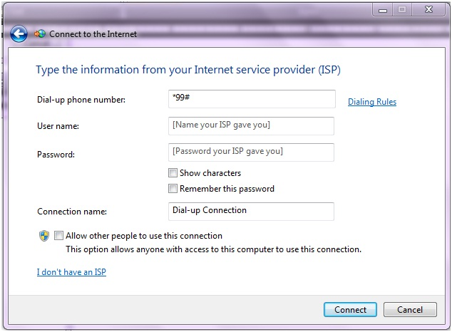 Vodafone Free Browsing Settings For Modem