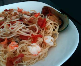 Cocina con Aníbal Spaghetti frutti di mare