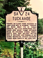Image of Tuckahoe Marker, posted by Veronica Randolph Batterson.
