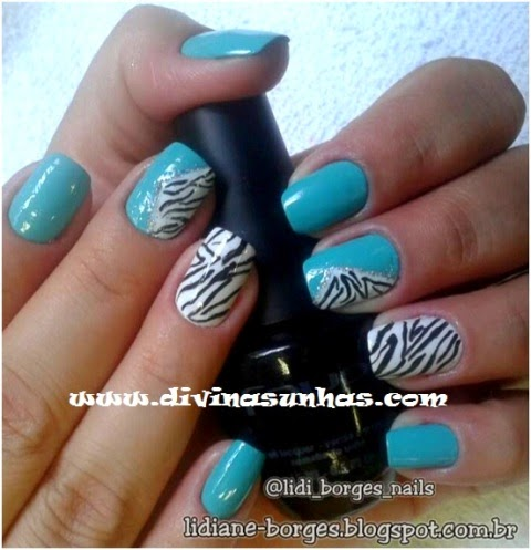 FOTOS DE UNHAS DECORADAS COM LIDIANE BORGES