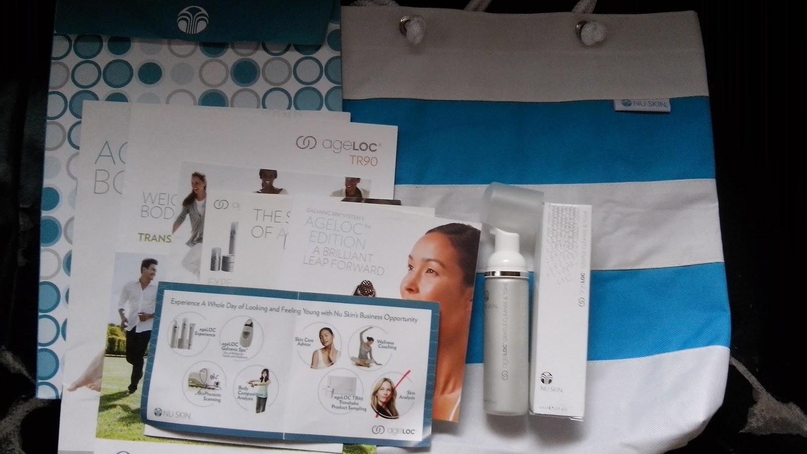 pisceanrat: Nu Skin ageLOC Expo