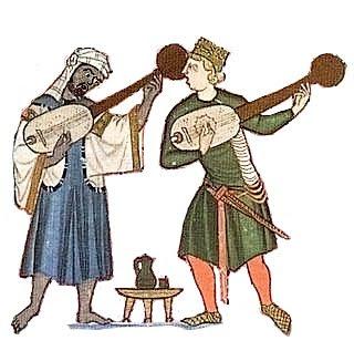 Fusión de culturas:Moro y cristiano, confunden sus guitarras