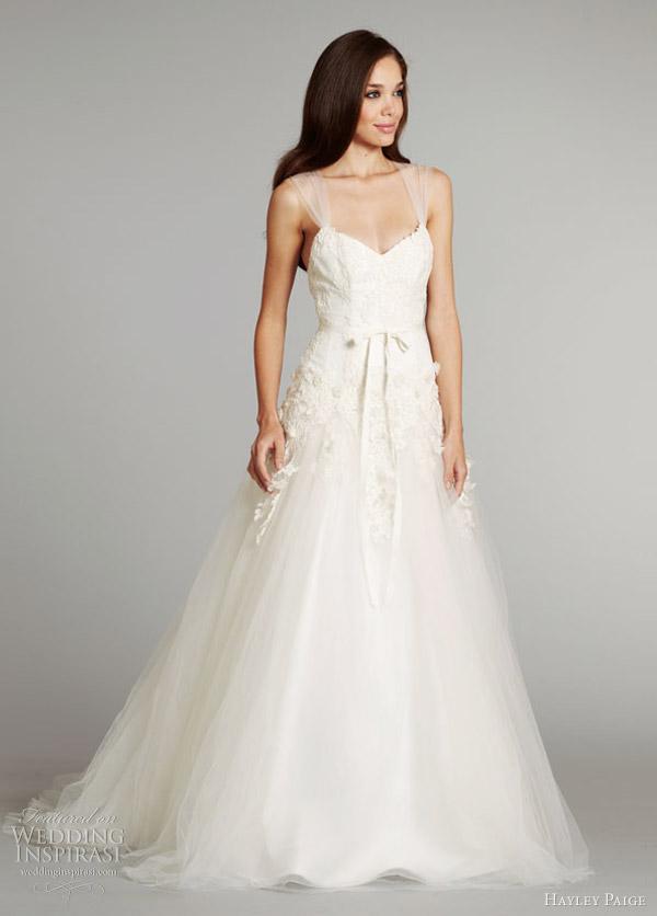 Honey buy hayley paige 2012 winter wedding dresses for Wedding dresses for winter