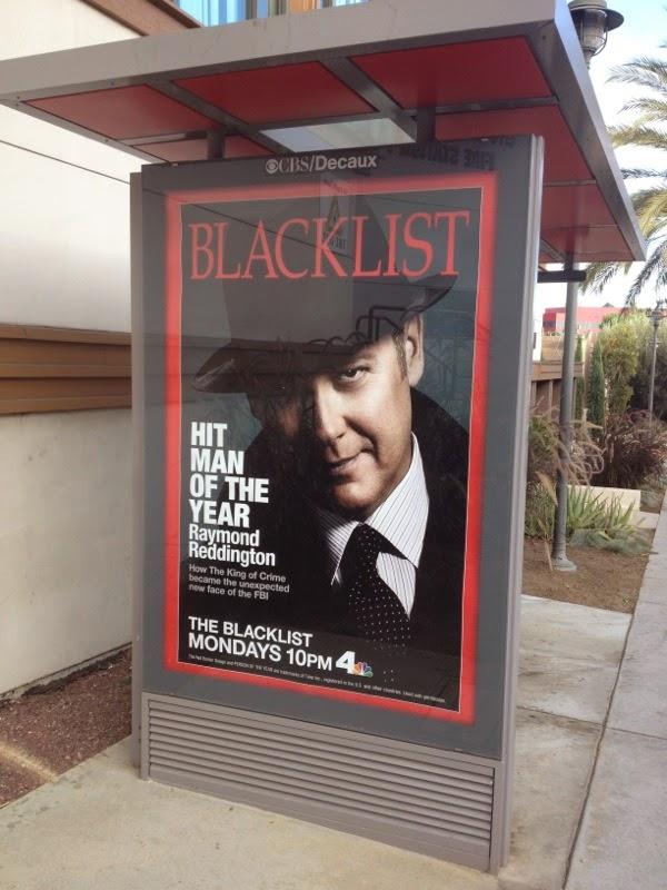 The Blacklist season 2 Time magazine homage poster