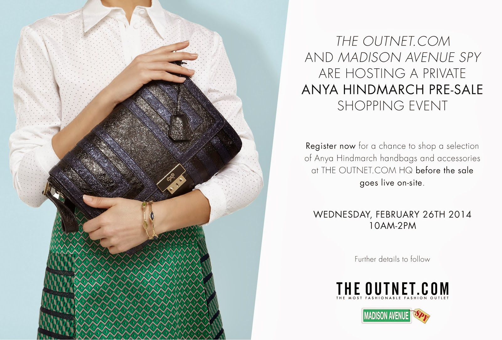 Private Anya Hindmarch Pre-Sale Event