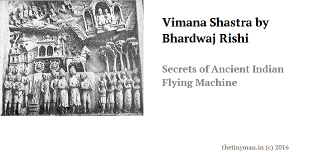 Vimana Shastra by Bhardwaj Rishi - Secrets of Ancient Indian Flying Machine