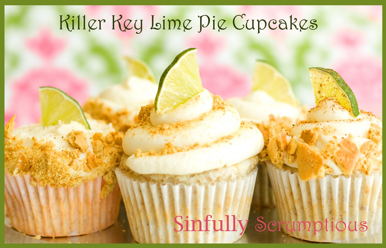 Sinfully Scrumptious: Scrumptious Key Lime Cupcakes in Littleton