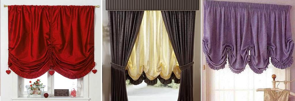Austrian curtain - dense tissue