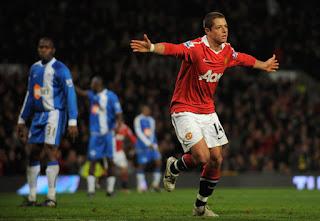Manchester united, Javier 'Chicharito' Hernandez