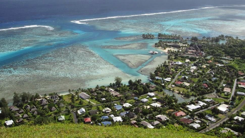 District de Tiahura à Moorea - Polynésie