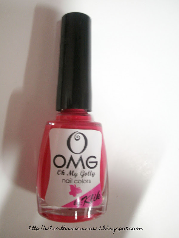 writing down my emotions: Review: OMG by Klik Nail Polish in Bikini