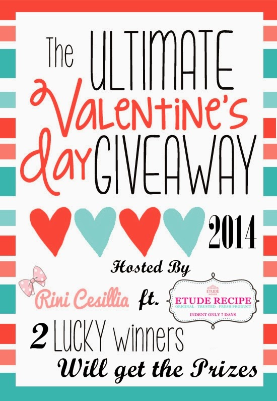 Valentine Day Giveaway ft Etude Recipe