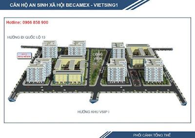 Căn hộ an sinh xã hội tại Thuận An, Bình Dương cho người có thu nhập thấp ảnh 2