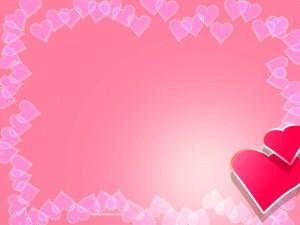 Background Power Point Valentine