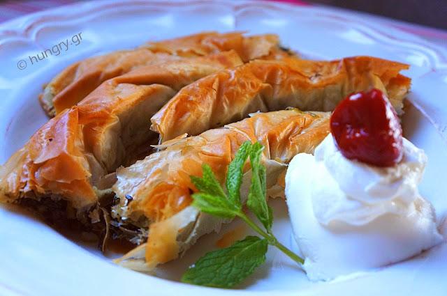 Greek Greens Pie - Hortopita