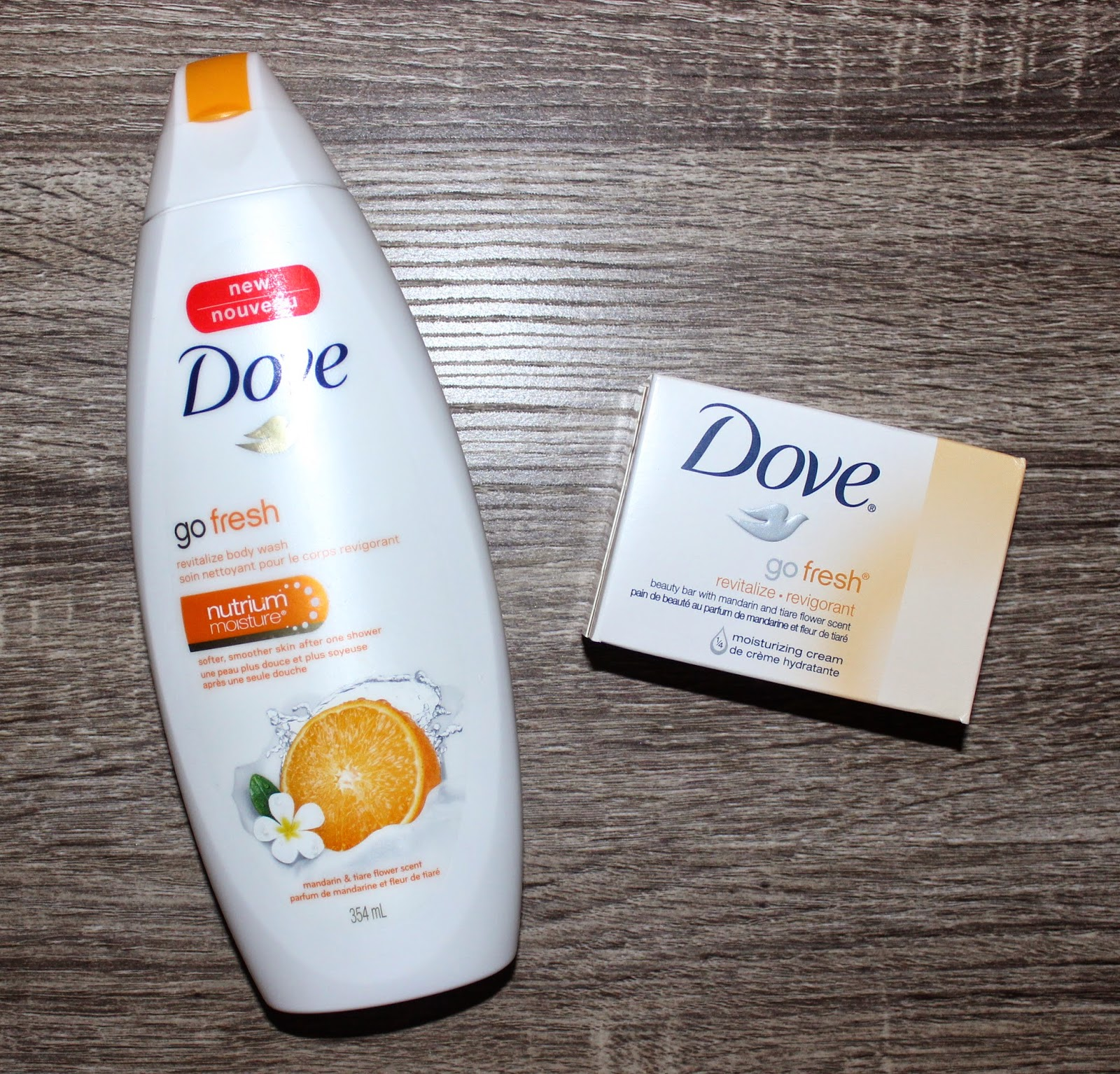 Dove Go Fresh Revitalize Body Wash & Beauty Bar