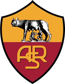 Logo Klub Sepakbola AS Roma Liga Italia