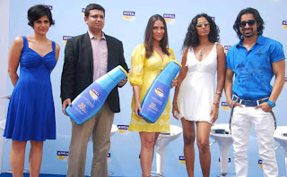 Lara Dutta Spotted in Sun at the Launch of Nivea Sun