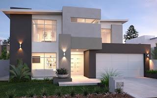 Perbandingan Desain Rumah Minimalis Modern 2 Lantai dengan 1 Lantai