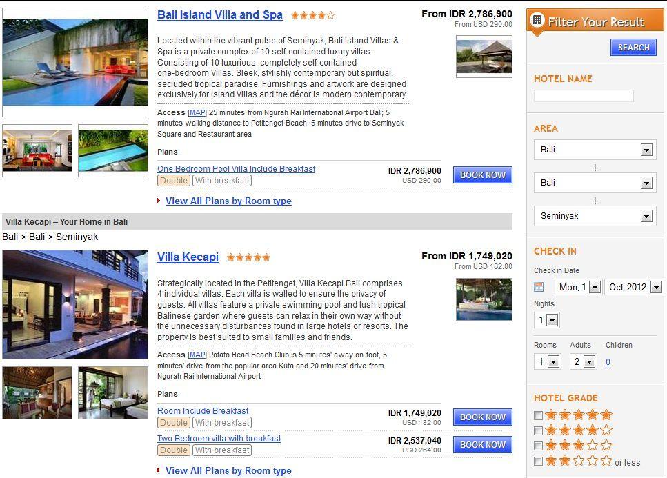 Daftar Hotel Murah Pegipegi