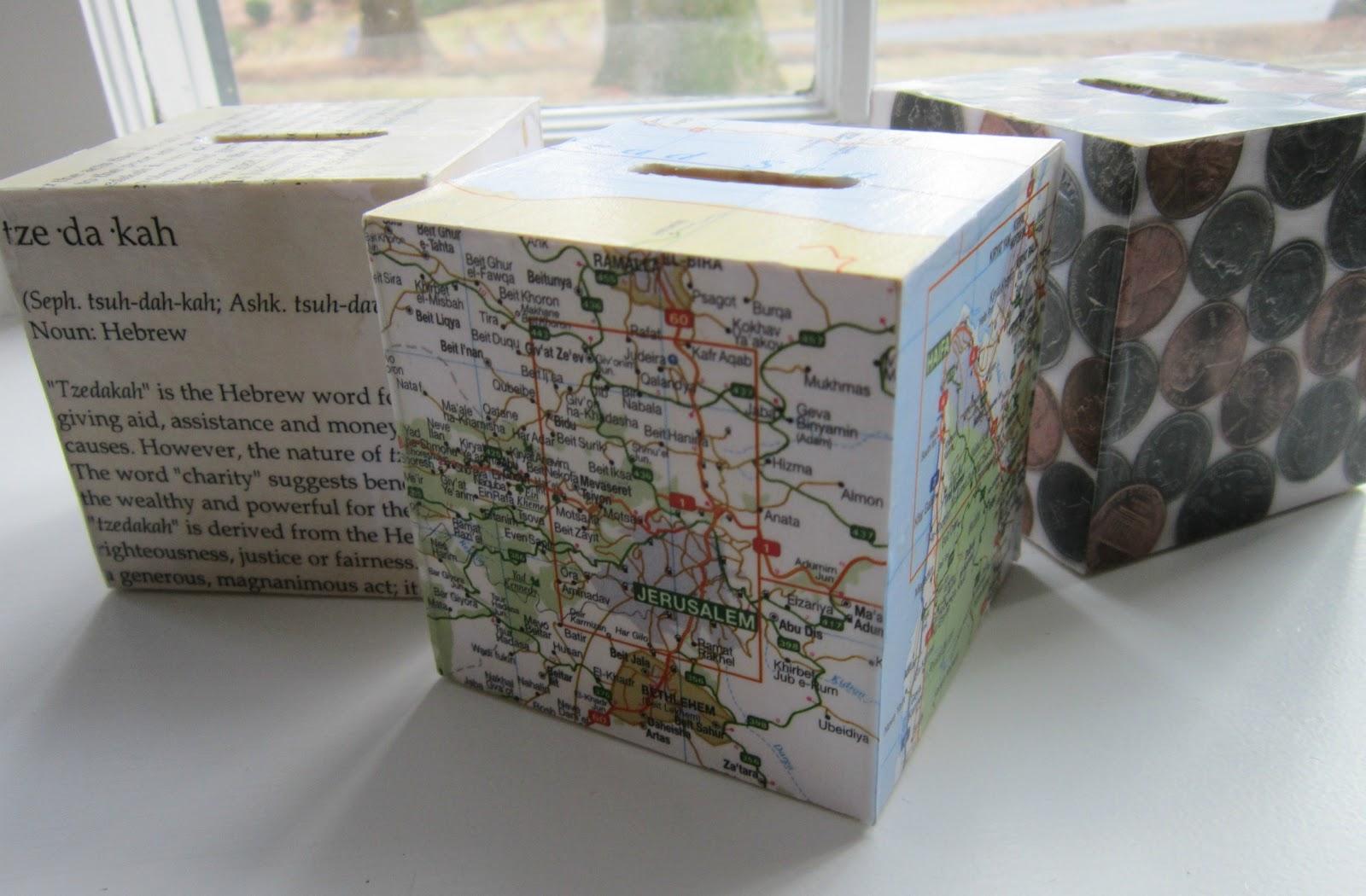 Charity Boxes & Design Megillah: Charity Boxes Aboutintivar.Com