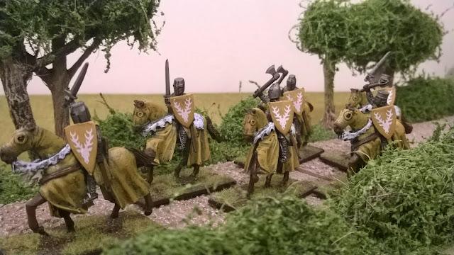 crusader miniatures knights mounted baratheons