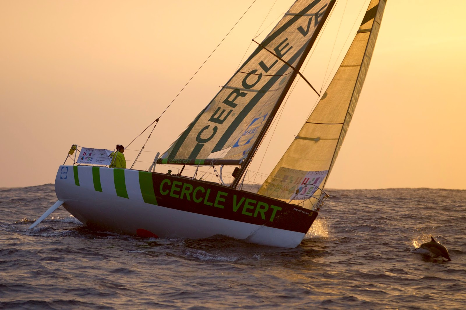 Gildas Morvan motivé au départ de la Lorient Horta Solo !