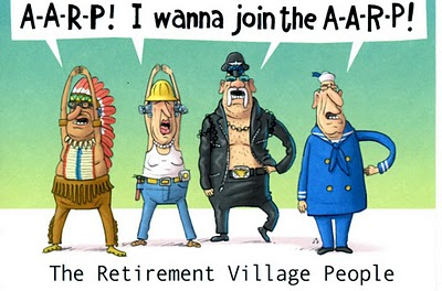 Funny Old People Retirement